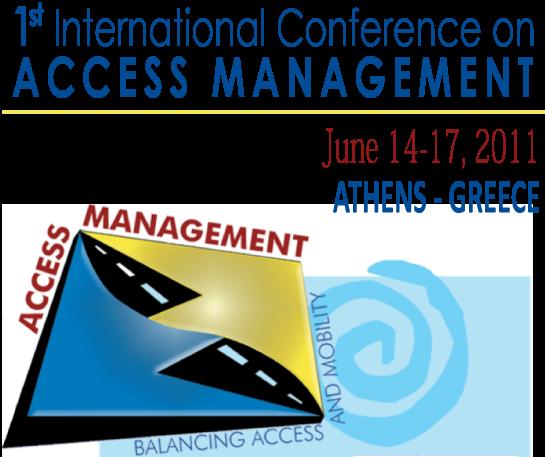 1ο Παγκόσμιο Συνέδριο για τη Διαχείριση των Προσβάσεων από 14 εώς 17 Ιουνίου 2011 στην Αθήνα