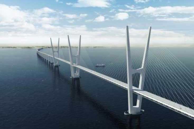 Βίντεο με την γέφυρα που θα ενώνει τη Γερμανία με τη Δανία