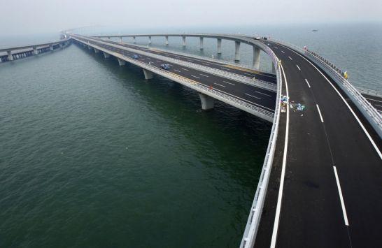 Εγκαινιάστηκε η γέφυρα 43 χιλιομέτρων στην Κίνα