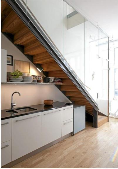 Έξυπνες λύσεις για τον χώρο κάτω από την σκάλα