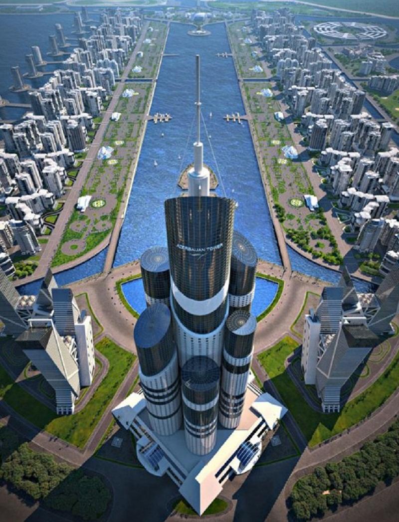 Το υψηλότερο κτίριο του κόσμου έρχεται στο Αζερμπαϊτζάν