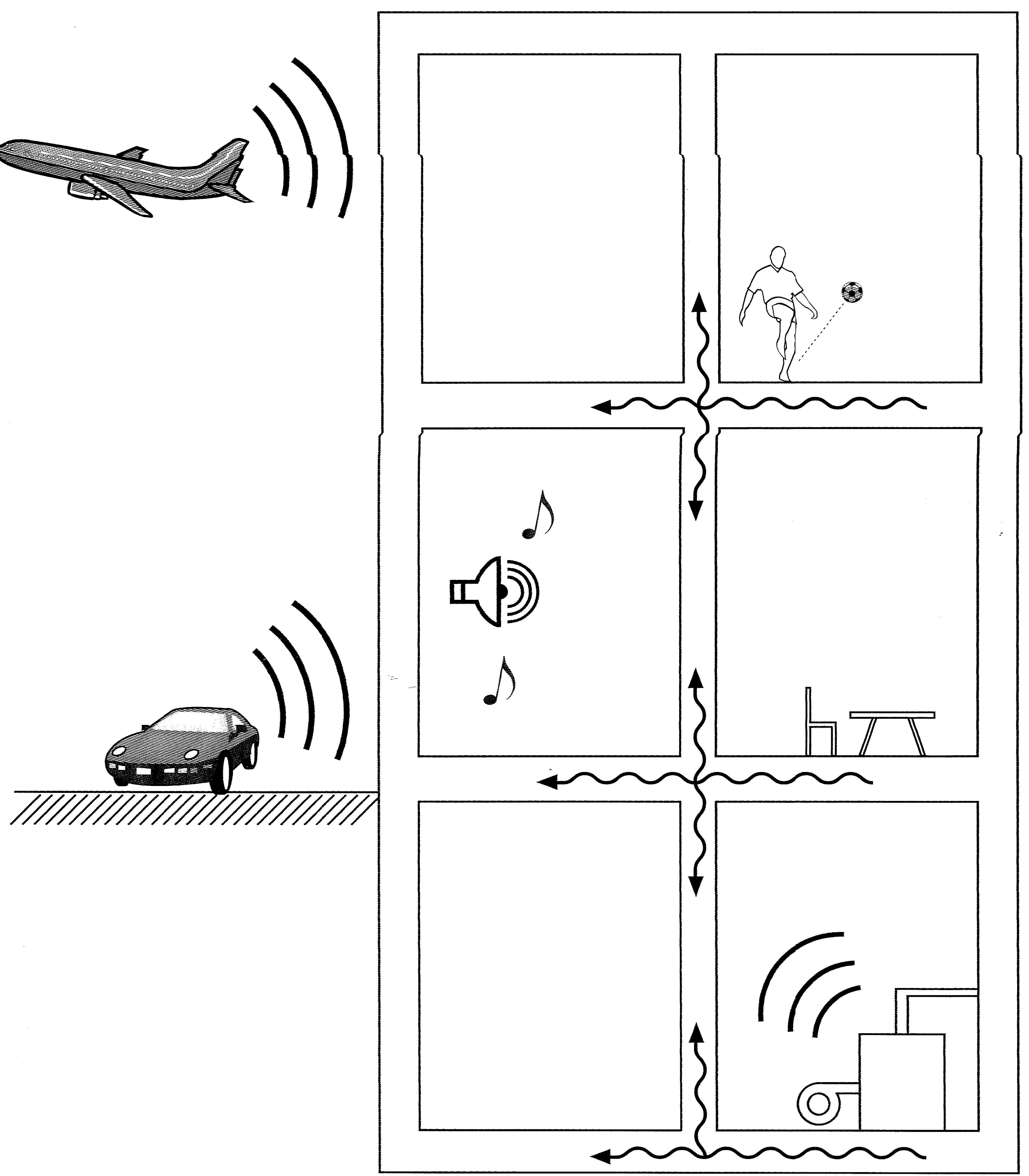 Γενικοί κανόνες προστασίας από θορύβους στις κατοικίες