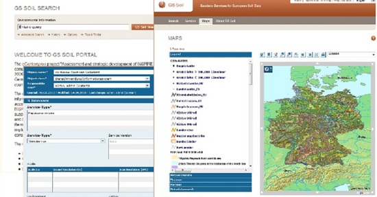 Διαδικτυακός ευρωπαϊκός κατάλογος εδαφών