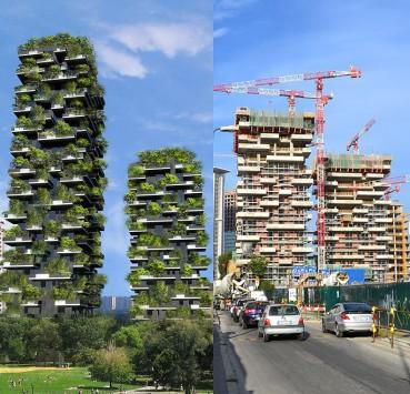 Σπίτια με πράσινο στο Μιλάνο!