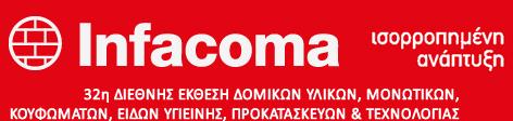 32η Έκθεση Infacoma στη Θεσσαλονίκη 12 – 15 Φεβρουαρίου 2015