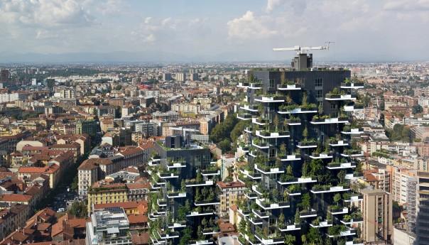 """Ο ουρανοξύστης """"κάθετο δάσος"""""""
