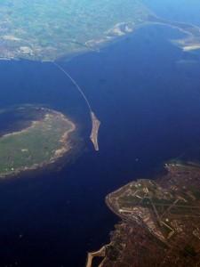 H εντυπωσιακή γέφυρα Øresund