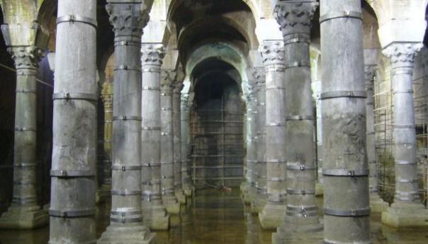 Άνοιξε πάλι για το κοινό η Κινστέρνα του Αυτοκράτορα Θεοδοσίου στη Κωνσταντινούπολη.