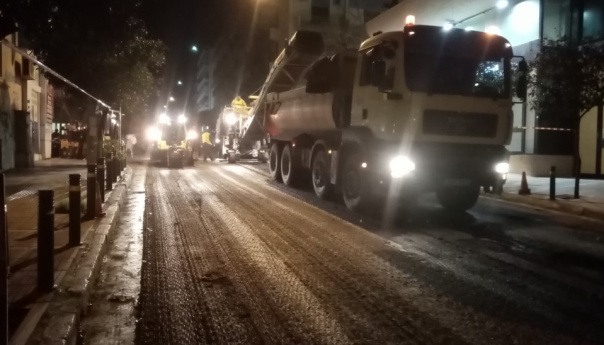 Δήμος Αθηναίων: Ασφαλτοστρώσεις σε πάνω από 80 δρόμους (Διαβάστε ποιούς)